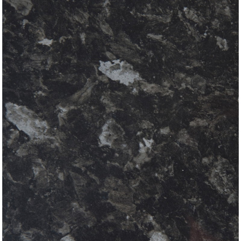 Image of Black Slate Gloss Laminate Worktop 2000mm x 365mm x 28mm - WOW-BSG2 - Hudson Reed