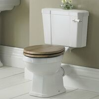 Hudson Reed Carlton Close Coupled Toilet WC with Cistern - Excluding Seat