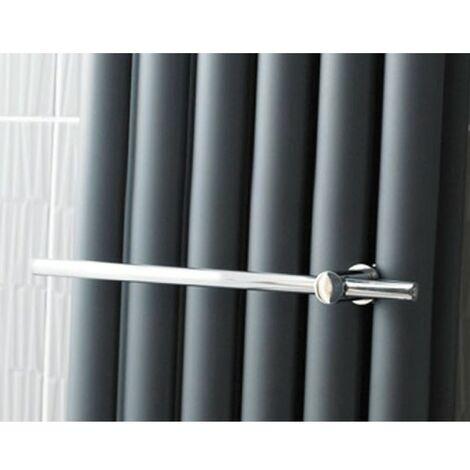 Hudson Reed Chrome Towel Rail for Revive Radiators