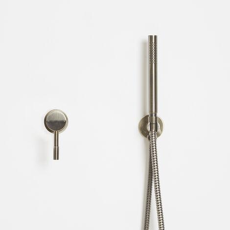 Hudson Reed Clarus - Moderner Einhebelmischer mit Handbrause Set - gebürstetes Gold