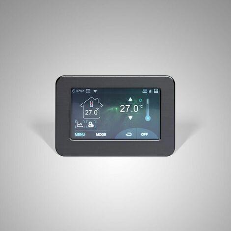Hudson Reed Connect - WLAN Touchscreen Thermostat für Elektrische Heizung