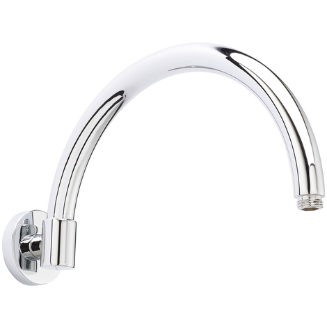 Hudson Reed Curved Wall Hung Shower Arm - ARM06