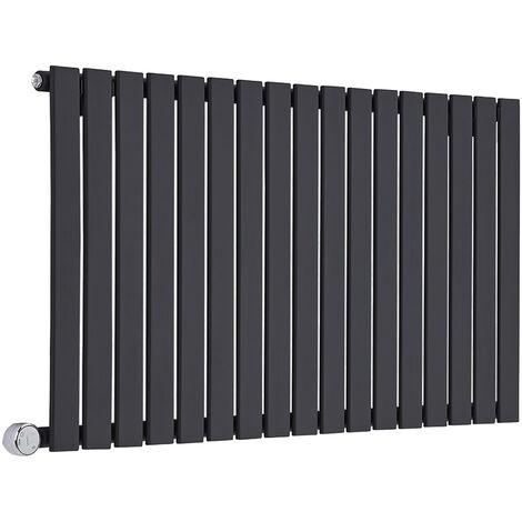 Hudson Reed Delta – Radiateur Design Électrique Horizontal – Simple Rang – 63,5 x 119 x 4,6cm 1000 Watts