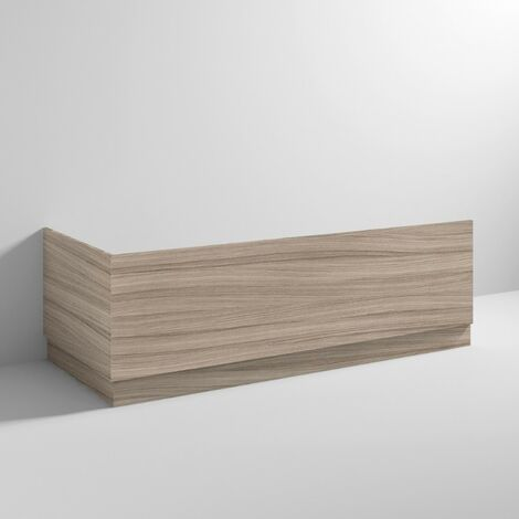 Hudson Reed Drfitwood 1700mm Front Bath Panel with Plinth - OFF277