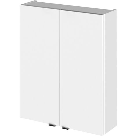 """main image of """"Hudson Reed Fusion Wall Unit 500mm Wide - Gloss White"""""""