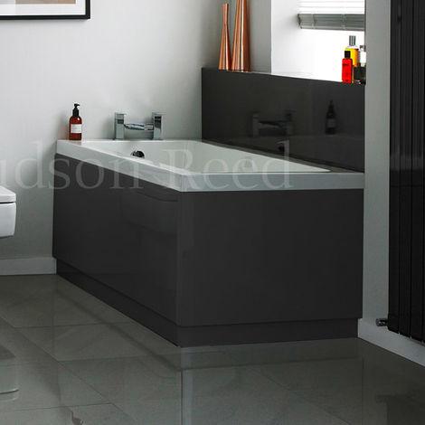 Hudson Reed Grey End Bath Panel 750mm