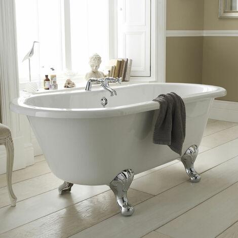 Hudson Reed Grosvenor Freestanding Bath 1500mm x 750mm - Corbel Leg Set