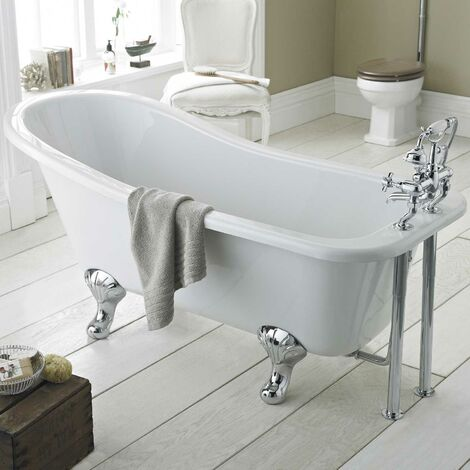 Hudson Reed Kensington Freestanding Slipper Bath 1500mm x 730mm - Corbel Leg Set
