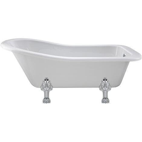 Hudson Reed Kensington Freestanding Slipper Bath 1500mm x 730mm - Pride Leg Set