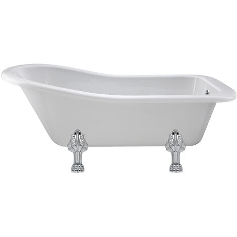 Hudson Reed Kensington Freestanding Slipper Bath 1700mm x 730mm - Pride Leg Set