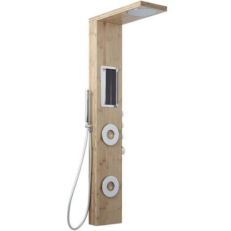 "main image of ""Hudson Reed Lako - Colonne de Douche Thermostatique Design Bamboo"""
