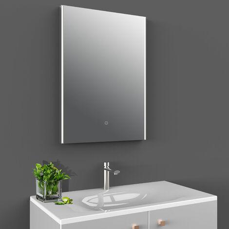 Hudson Reed LED Bathroom Mirror with 21W Bulb 700mm H x 500mm W