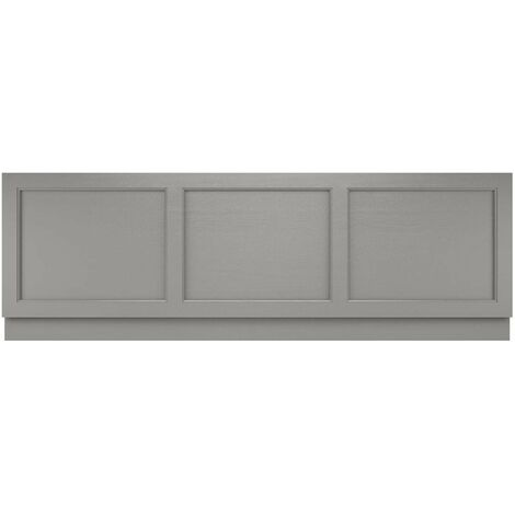 Hudson Reed LOP205 Old London Storm Grey   1700mm Front Panel, Storm Grey