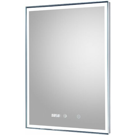 Hudson Reed Lustre Bathroom Mirror 700mm H x 500mm W