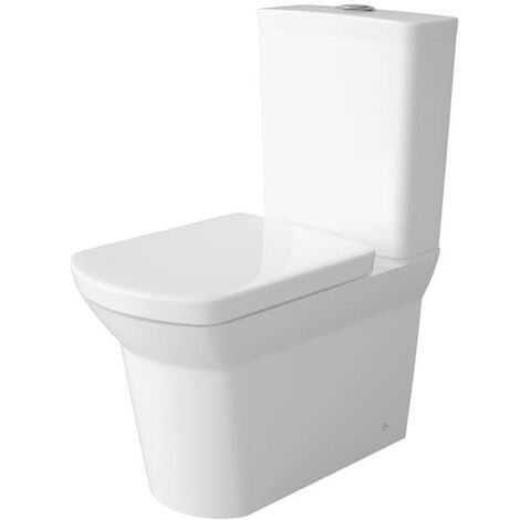 Hudson Reed Maya Flush to Wall Pan with Cistern - Soft Close Seat
