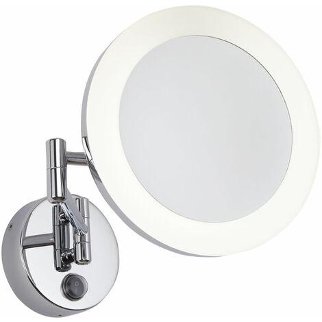 Hudson Reed - Miroir Grossisant Lumineux - Design Rond Monoun Ø20CM