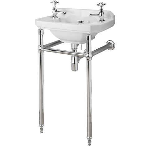 Hudson Reed NLA001 Richmond | Washstand, Chrome