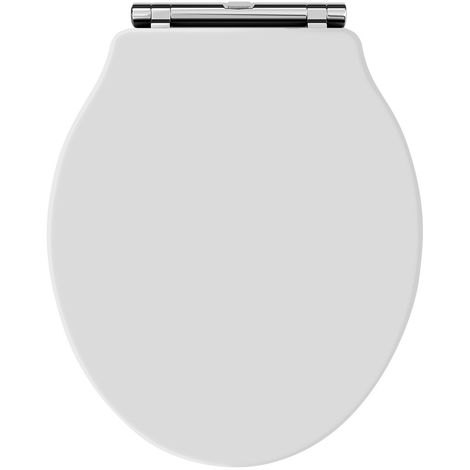 Hudson Reed NLS198 Toilet Seats | Chancery Toilet Seat, White