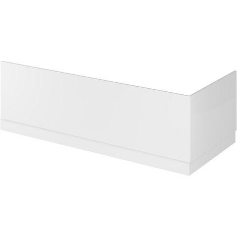 Hudson Reed OFF177 Bath Panels | 1700 Bath Front Panel & Plinth, Gloss White