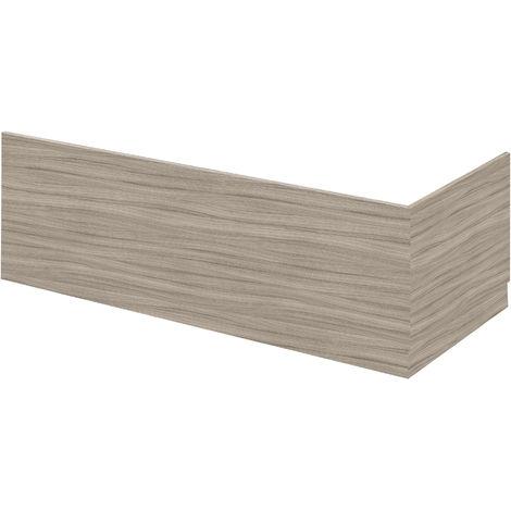 Hudson Reed OFF271 Bath Panels | 750 Bath End Panel & Plinth, Driftwood