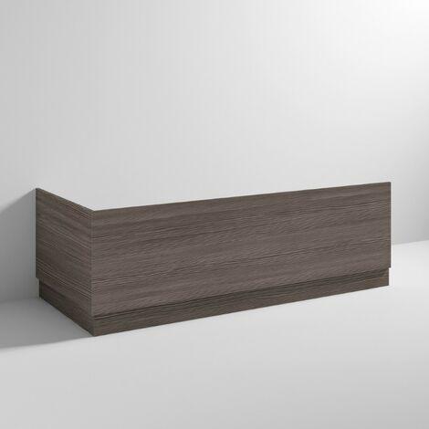 Hudson Reed OFF571 Bath Panels   750 Bath End Panel & Plinth, Brown Grey Avola
