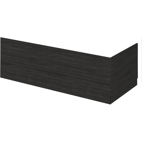 Hudson Reed OFF670 Bath Panels | 700 Bath End Panel & Plinth, Hacienda Black