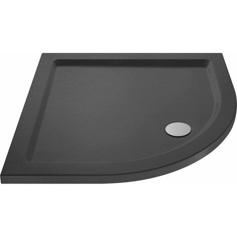 Hudson Reed Quadrant Shower Tray 700mm x 700mm - Slate Grey