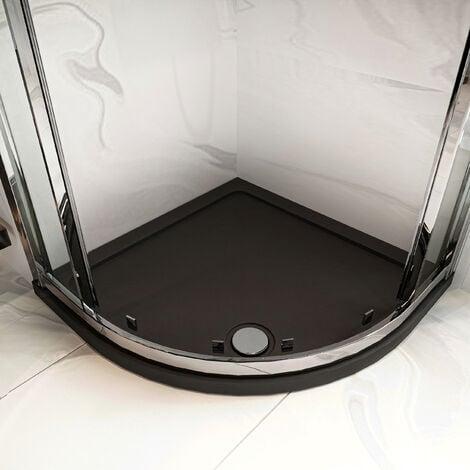 Hudson Reed Quadrant Shower Tray 760mm x 760mm - Slate Grey