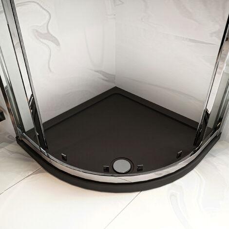 Hudson Reed Quadrant Shower Tray 900mm x 900mm - Slate Grey
