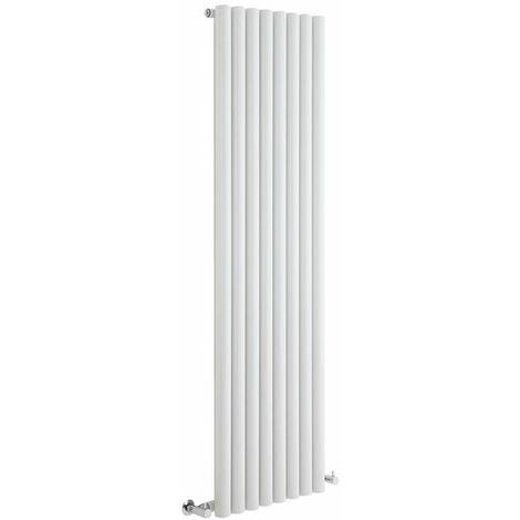 Hudson Reed Radiador de Diseño Vertical - Savy - Blanco - 1780mm x 472mm - 1391 Watt - 562 (Entre Eje)
