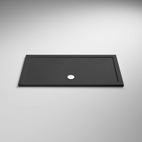 Hudson Reed Rectangular Shower Tray 1600mm x 900mm - Slate Grey