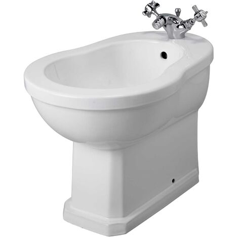 Hudson Reed Richmond Back to Wall Bidet - 1 Tap Hole
