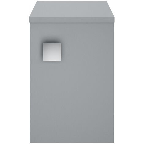 Hudson Reed Sarenna 1-Door Side Cabinet Unit 305mm Wide - Dove Grey