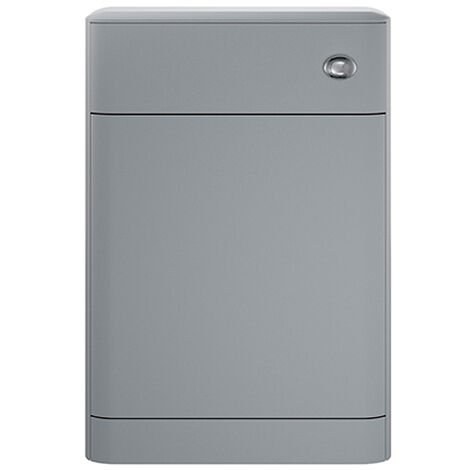 Hudson Reed Sarenna Back to Wall WC Toilet Unit 552mm Wide - Dove Grey