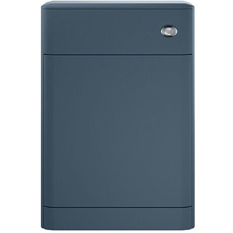 Hudson Reed Sarenna Back to Wall WC Toilet Unit 552mm Wide - Mineral Blue