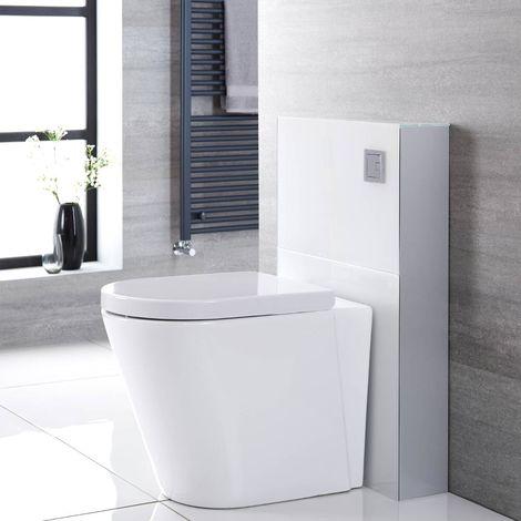 Hudson Reed Saru - Sanitärmodul H 822mm Weiß für Stand-WC, mit Spülkasten