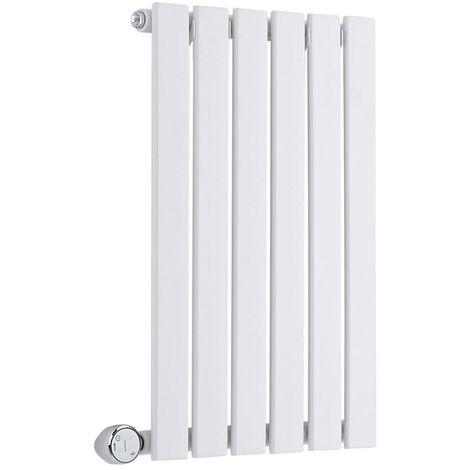 Hudson Reed Sloane Électrique – Radiateur Design Horizontal – Blanc – 63,5 x 42cm