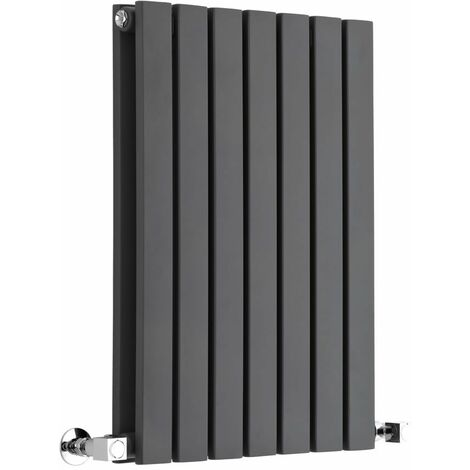 Hudson Reed Sloane – Radiateur Design Horizontal – Anthracite – 63,5 x 42cm Double Rang