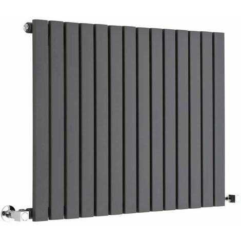 Hudson Reed Sloane – Radiateur Design Horizontal – Anthracite – 63,5 x 83,4cm