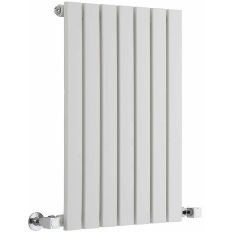 Hudson Reed Sloane – Radiateur Design Horizontal – Blanc – 63,5 x 42cm