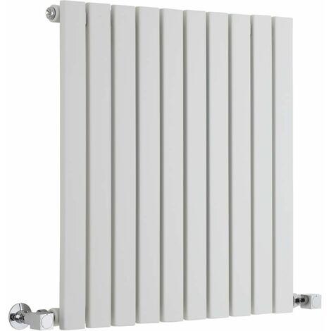 Hudson Reed Sloane – Radiateur Design Horizontal – Blanc – 63,5 x 60cm