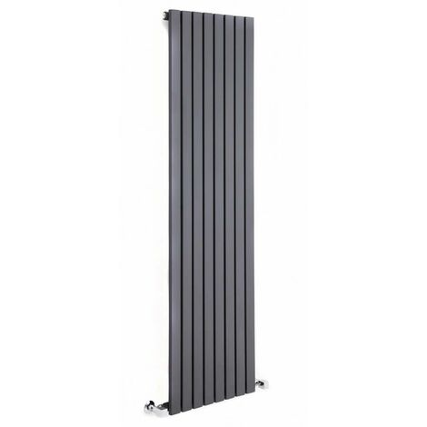 Hudson Reed Sloane – Radiateur Design Vertical – Anthracite – 160 x 35,4cm