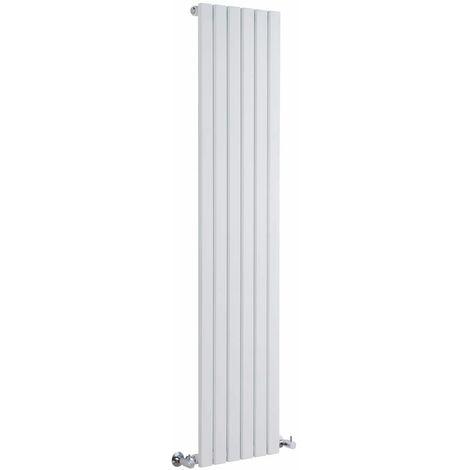 Hudson Reed Sloane – Radiateur Design Vertical – Blanc – 160 x 35,4cm
