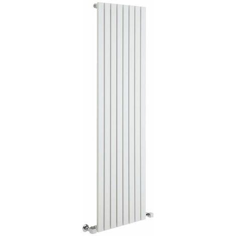 Hudson Reed Sloane – Radiateur Design Vertical – Blanc – 160 x 47,2cm