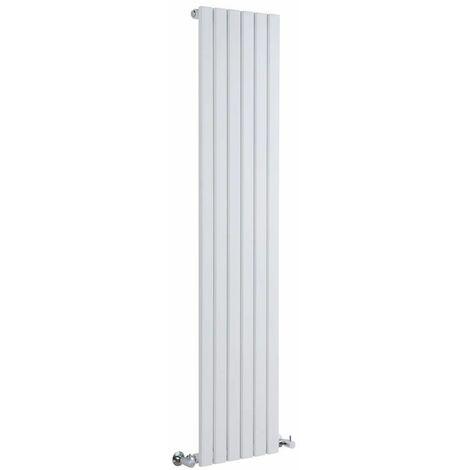 Hudson Reed Sloane – Radiateur Design Vertical – Blanc – 178 x 35,4cm