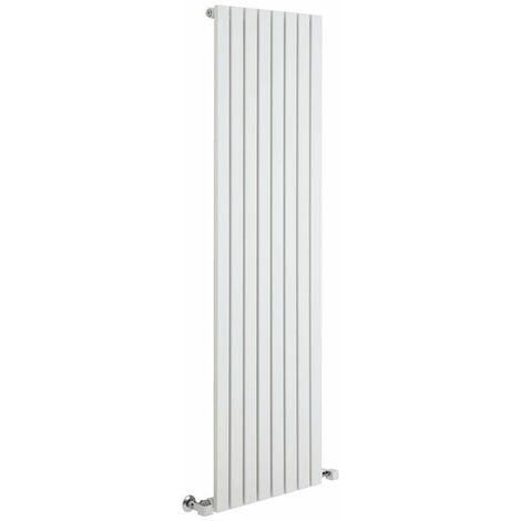 Hudson Reed Sloane – Radiateur Design Vertical – Blanc – 178 x 47,2cm