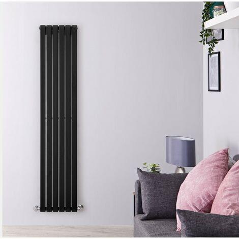 Hudson Reed Sloane – Radiateur Design Vertical – Noir – 160 x 35,4cm