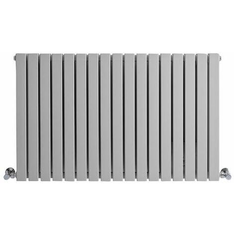 Hudson Reed Sloane - Radiateur Horizontal Design - Gris Souris - 1022 Watts - 63,5 x 100cm