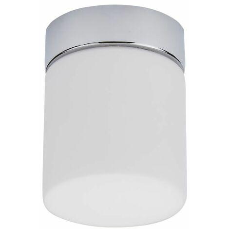Hudson Reed Tahoe Applique o Plafoniera LED 6W Rotonda per Bagni Quadrata – IP44 Impermeabile – Bianco Caldo (3000K)