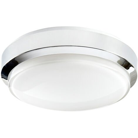 LED luce muro 16 Watt LED Paratia QUADRATO BASE BIANCA di emergenza